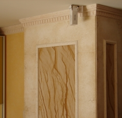 Flexible sandstone by YTTERSTONE® as a wall decor in the interior
